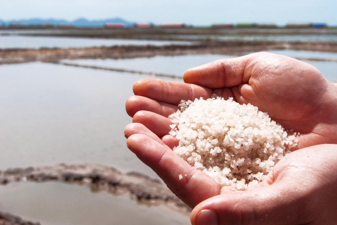 Salt in hand