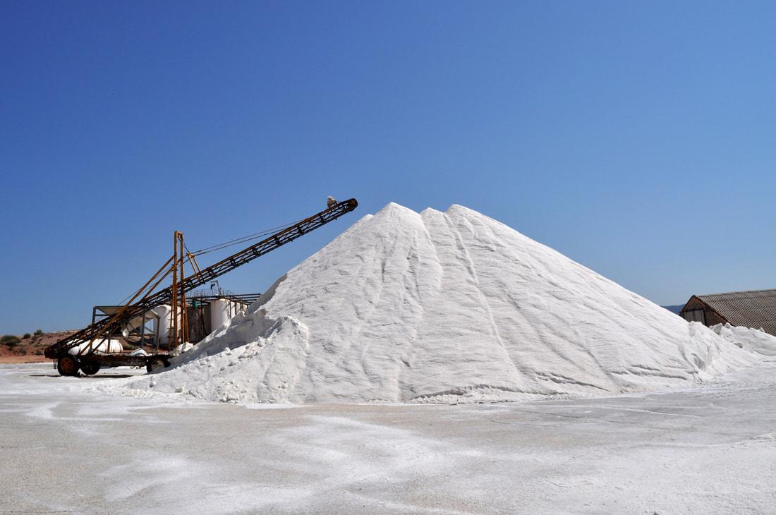 Salt mound
