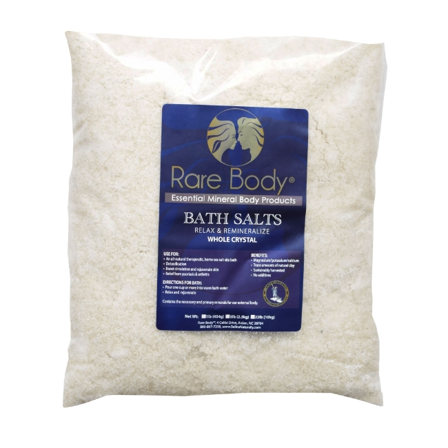 5 lbs Coarse Bath Salt