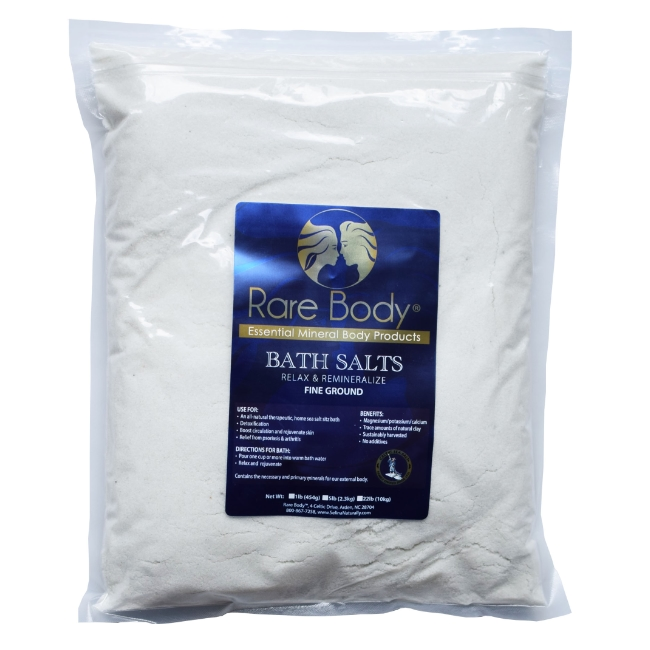 5 lbs Fine Bath Salt