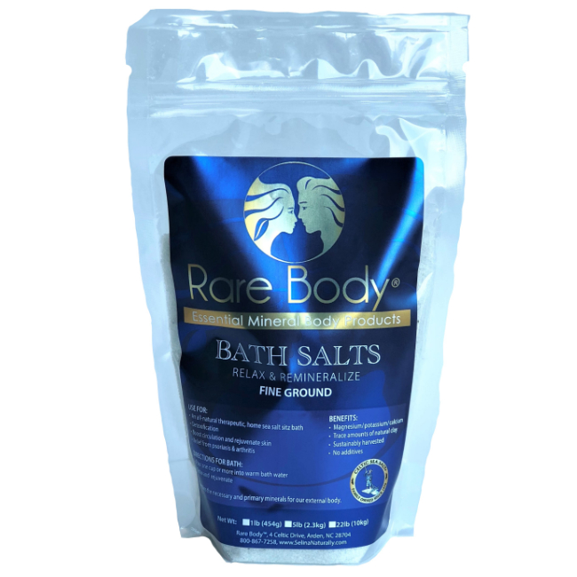 1 lbs Fine Bath Salt